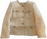 Chanel White Tweed Jacket for Women