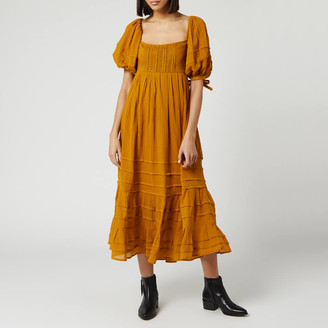 Free People Women's Lets Be Friends Maxi Dress