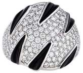 Cartier Diamond & Onyx Panthere Ring