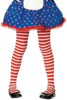 Leg Avenue Child's Striped Tights - Red/White ( 4-6)