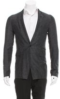 Rick Owens Linen-Blend One-Button Blazer w/ Tags