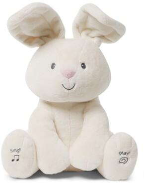 Gund Baby Boys or Girls Animated Flora Bunny Plush Toy