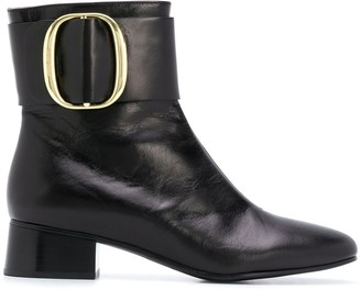 See by Chloe Low Heel Ankle Boots