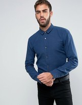 HUGO BOSS HUGO by Ero 3 Washed Pique Shirt Slim Fit