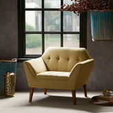 INK + IVY INK+IVY Newport Tufted Fabric Club Chair