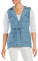 Sanctuary Chambray Utility Vest