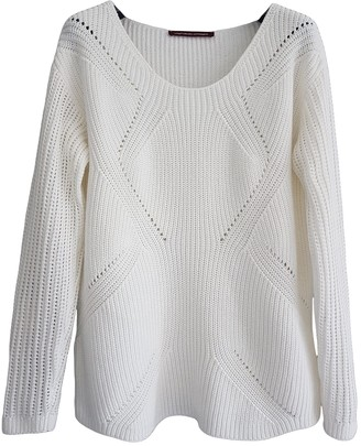 Comptoir des Cotonniers White Cotton Knitwear for Women