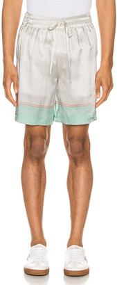 Casablanca Printed Shorts in Les Coquillages Mint | FWRD