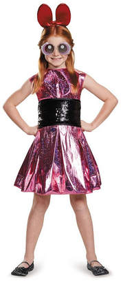 BuySeasons Powerpuff Girls Blossom Deluxe Little and Big Girls Costume