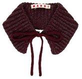 Marni Wool Rib Knit Collar w/ Tags