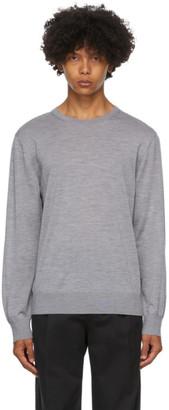 Ermenegildo Zegna Grey Wool Sweater