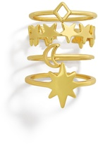 BaubleBar Charisma Ring Set