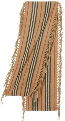 Burberry Stripes Cashmere Scarf