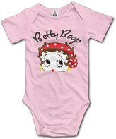 EpE! EpE Betty Boop Triangle Romper Bodysuit Jumpsuit Onesie For Baby 6 M