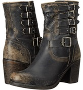 Frye Kelly Belted Short Cowboy Boots