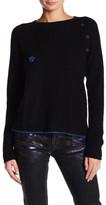Zadig & Voltaire Pointelle Cashmere Sweater