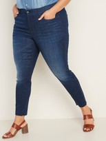 Old Navy High-Waisted Secret-Slim Pockets + Waistband Rockstar Super Skinny Plus-Size Jeans