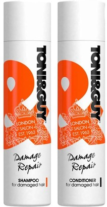 Toni & Guy Damage Repair Shampoo 250Ml & Conditioner 250Ml