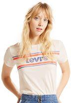 Levi's Women's Striped Logo Tee