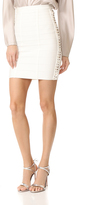 Herve Leger Mini Skirt with Side Detail
