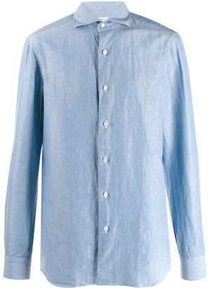 Barba French collar shirt