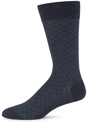Marcoliani Milano Micro Argyle Cotton Socks