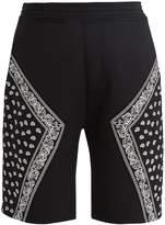 Neil Barrett Bandana-print neoprene shorts