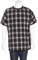 Public School Plaid Flannel T-Shirt w/ Tags