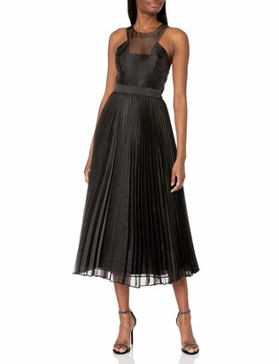 BCBGMAXAZRIA Women's Pleated Gown