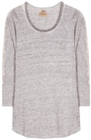 True Religion Embellished Linen Top