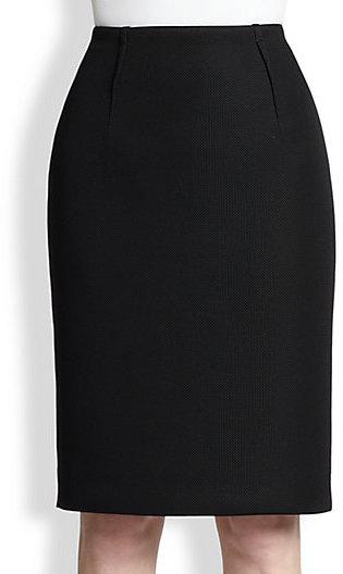 Paule Ka Resille Neoprene Skirt