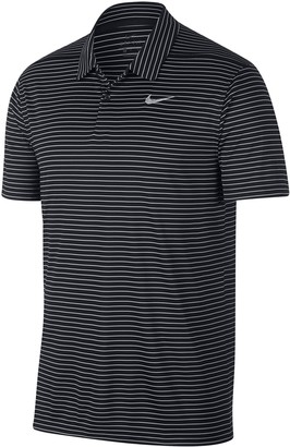 Nike Men's Dri-FIT Striped Performance Golf Polo