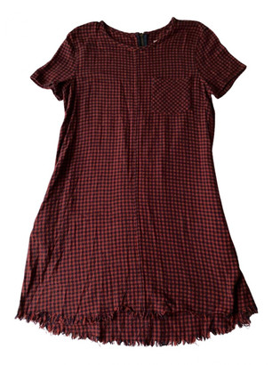 Current/Elliott Current Elliott Red Cotton Dresses