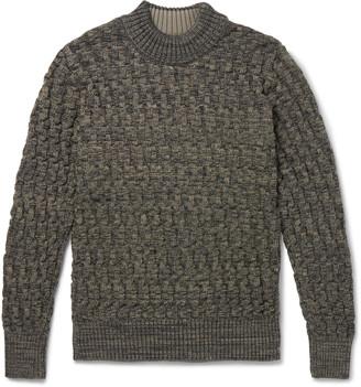 S.N.S. Herning Stark Slim-Fit Virgin Wool Mock-Neck Sweater