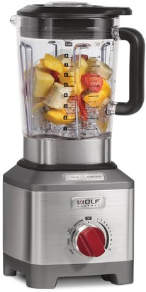 Wolf Gourmet Pro-Performance Blender with Red Knobs