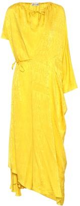 Balenciaga Silk-jacquard dress