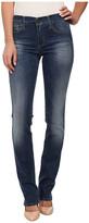 True Religion Cora Slim Jean Straight Jeans in Medium Blue