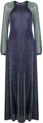 Missoni Open-Back Glittered Gown