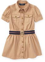 Ralph Lauren Cotton Chino Shirtdress