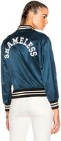 R 13 Unlined Raglan Shameless Jacket