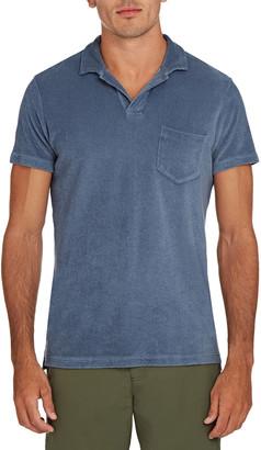 Orlebar Brown Men's Terry Towel Polo Shirt