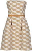 Gold Case Short dresses - Item 34711664
