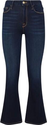 Frame Le Crop Mini Boot Cabana Jeans