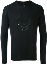 Tom Rebl skull printed top - men - Cotton - S