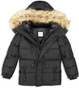 SAM. Boys' Fur-Trimmed Down Jacket - Big Kid