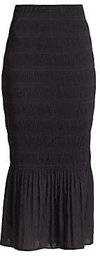 Totême Women's Ardenza Shirred Mermaid Skirt
