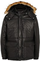 Our Legacy Black Quilted Leather Jacket