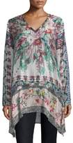 Johnny Was Tribeca Silk Tunic