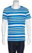 Burberry Striped Crew Neck T-Shirt