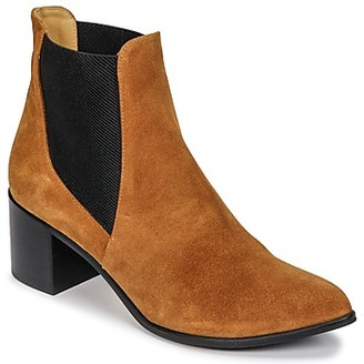 Emma.Go Emma Go GUNNAR women's Low Ankle Boots in Brown
